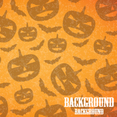 Halloween Pumpkins Background