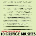 Grunge Brushes For Illustrator