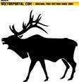 Elk Vector Image