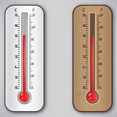 Thermometer Vector Design