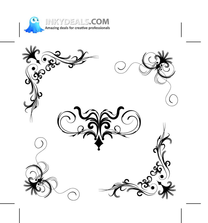 Floral Vector Set 150