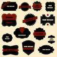Vector Ornate Labels