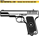 Gun Vector Clip Art