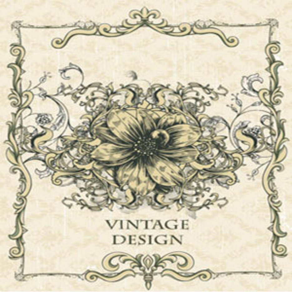 Free Vector Vintage Design Illustration