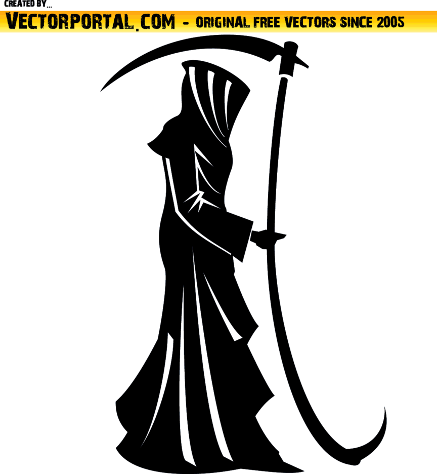 Death Vector Silhouette