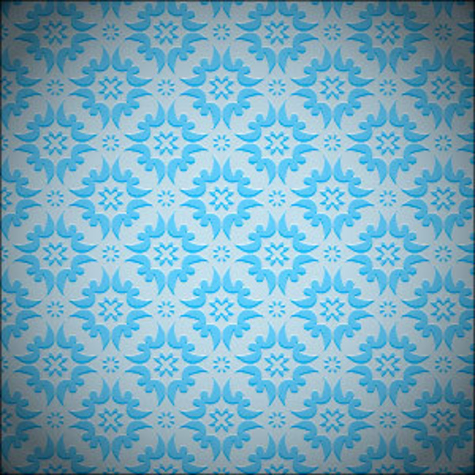 Blue Seamless Background Pattern