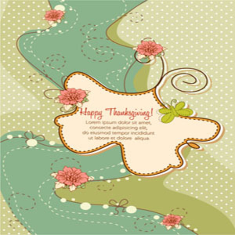 Free Thanksgiving Illustration #4