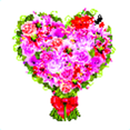 Valentine's Day Flowers Background
