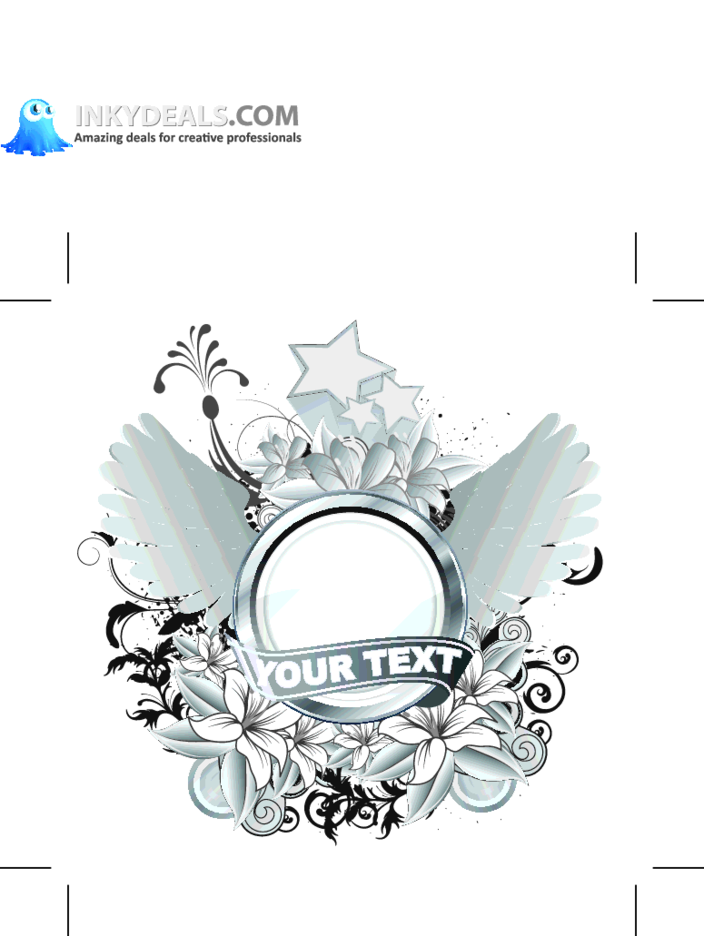Abstract Vector Badge