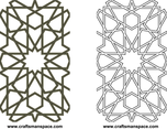 Moorish Lattice 2D Pattern