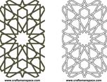 Moorish Lattice 2D Pattern