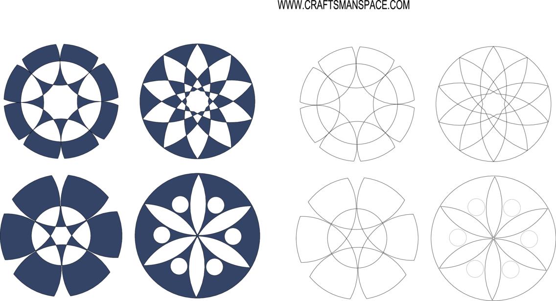 Corner Design Ornament