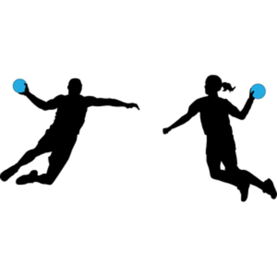 Handball Players Silhouette Vectors