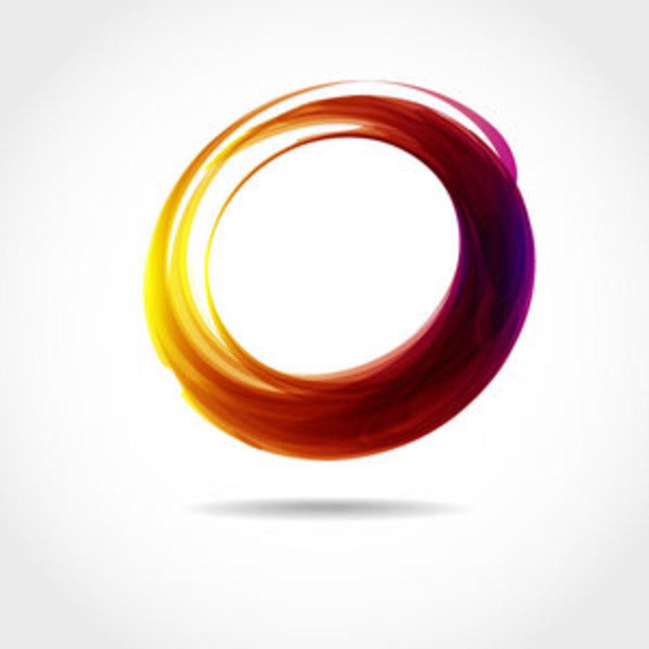 Abstract Circle Vector Shape