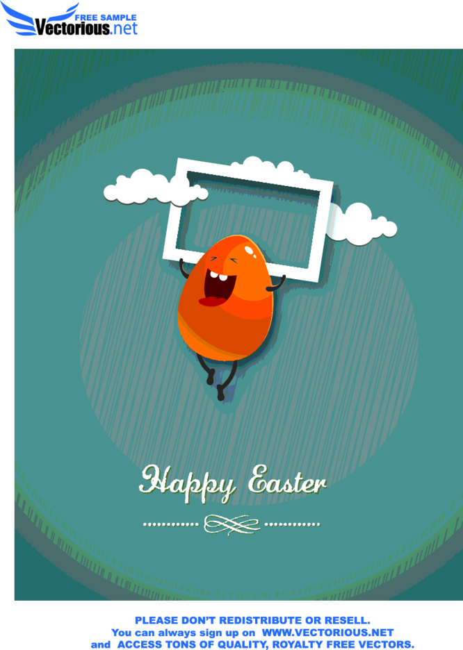 Easter Vector Illustration 23