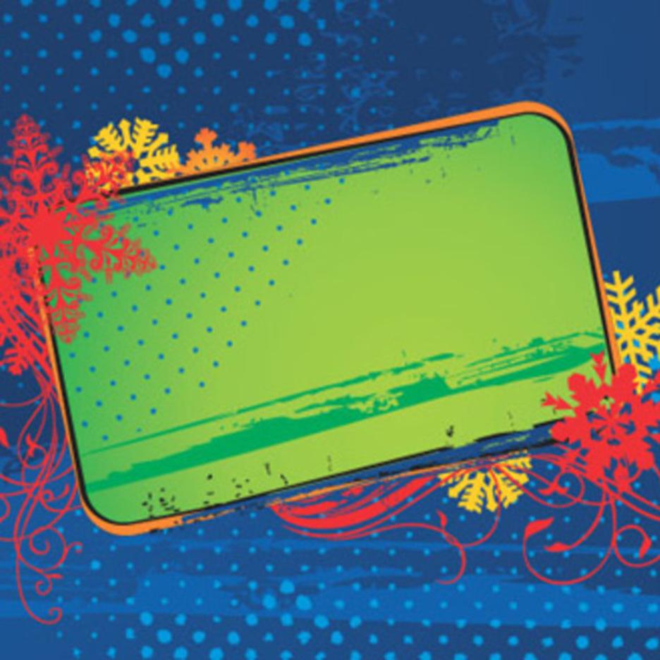 Christmas Card Banner