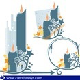 Abstract Vector Candles