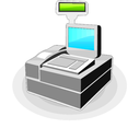 Free Vector Cash Register Icon