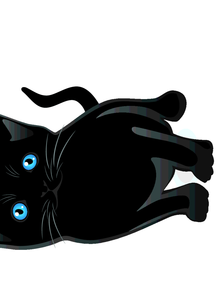 Free Vector Black Cat