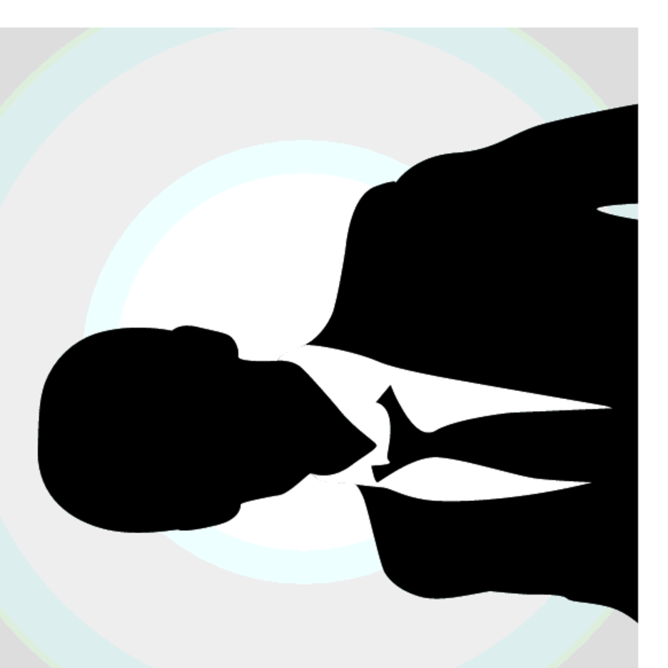 Free Vector Business Man Avatar Silhouette