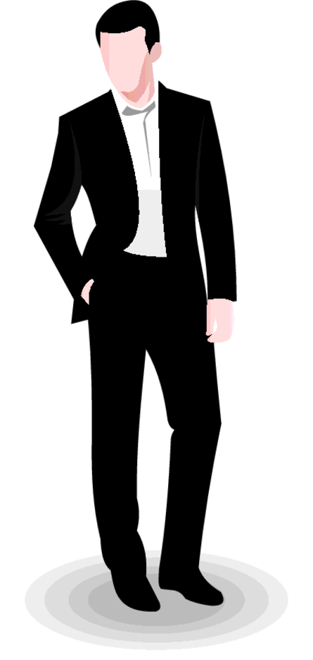 Free Vector Business Man