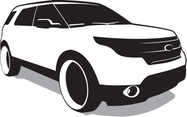 Free Vector SUV - Ford Explorer Vector