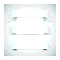 Free Vector White Ribbons