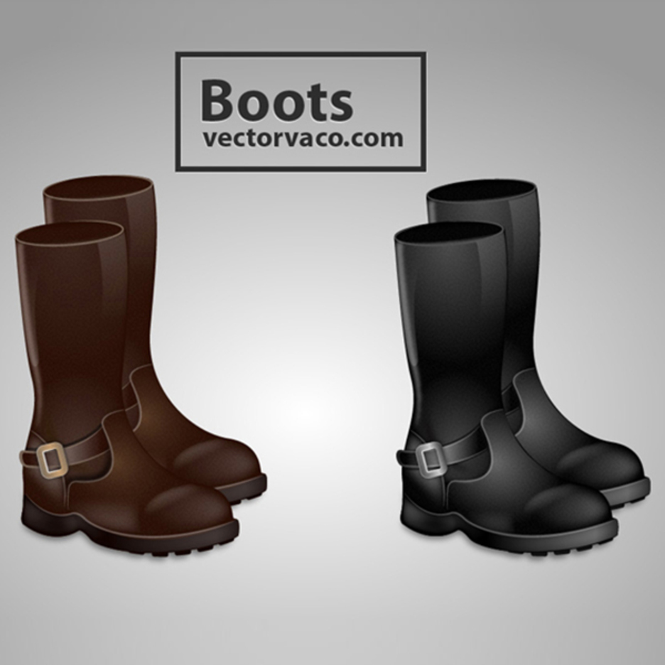 Free Vector Boots
