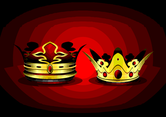 Free Vector Crown With Rubies