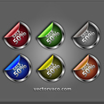 Free Vector Badges Pack
