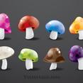 Free Vector Mushroom Pack