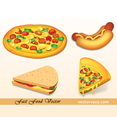 Free Vector Fast Food Pack