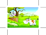 Free Cartoon Animal Vector Farm