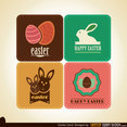 Free Easter Vector Card Designs
