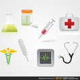 Free Medical Vector Icon Pack
