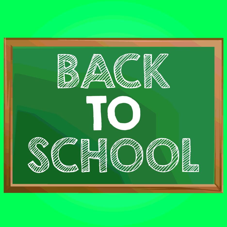 Free Back To School Chalkboard Vector