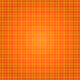 Orange Halftone Vector