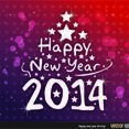 Free Vector New Year Background