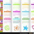 Free Vector 2014 Calendar