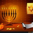 Free Vector Hanukkah Design
