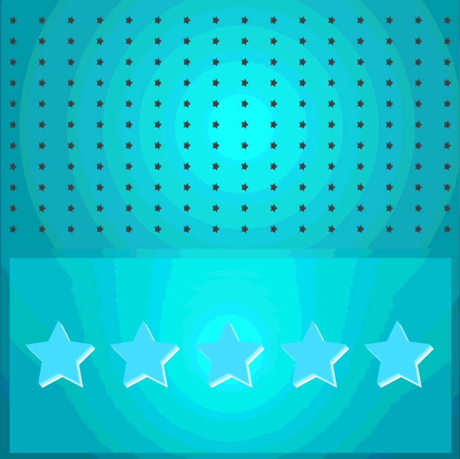 Blue Stars Vector