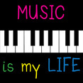 Music Is My Life Vector