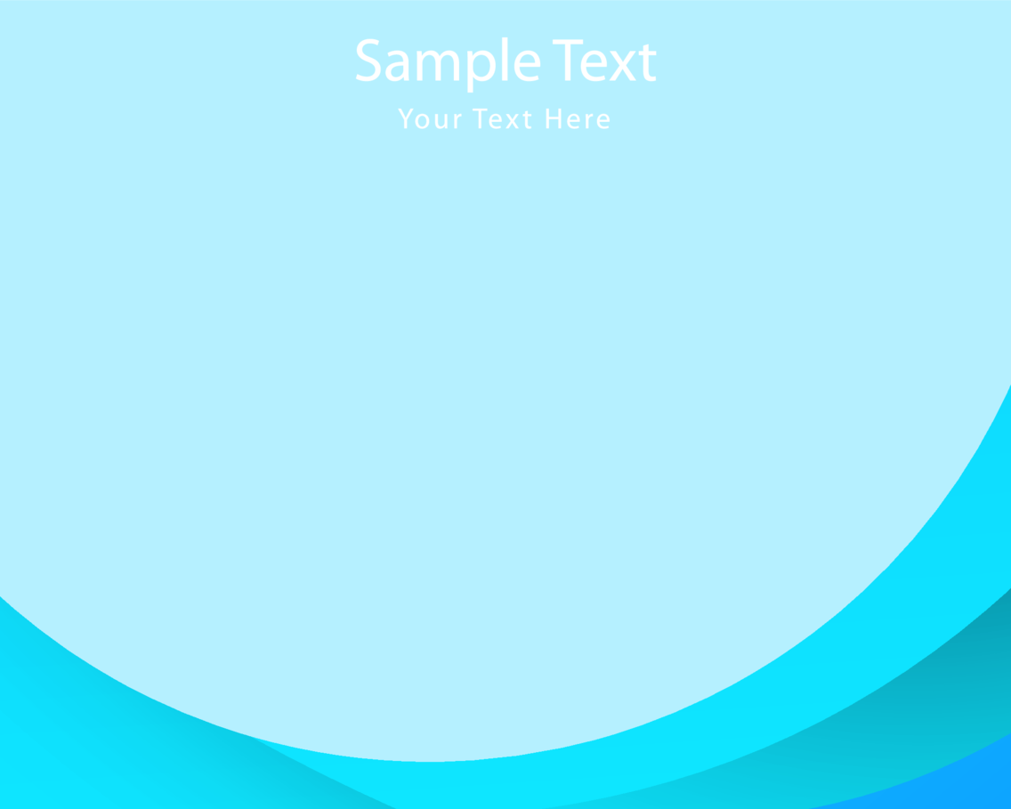 Simple Blue Background Vector
