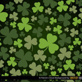 St Patrick's Clover Vector Background
