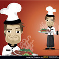 Free Vector Chef