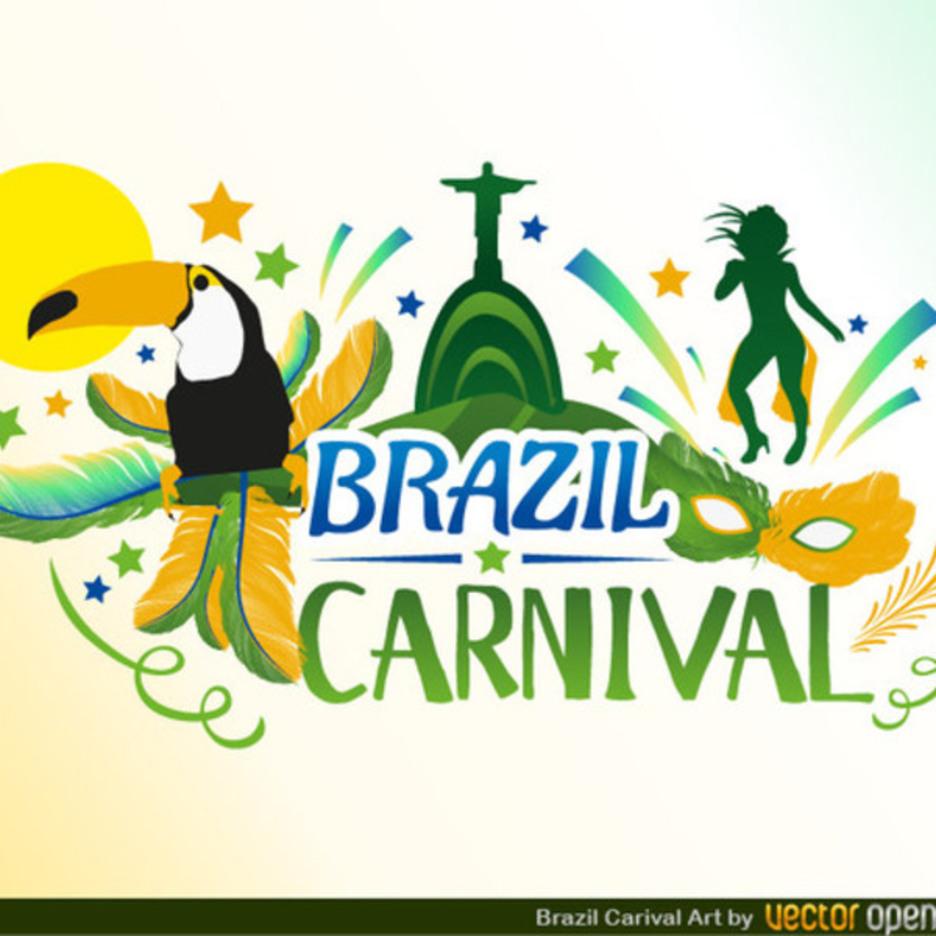 Free Vector Brazil Carnival Design