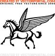 Free Pegasus Vector