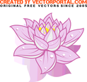 Free Vector Lotus Flower