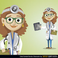 Free Vector Doctor Character