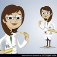 Free Vector Teacher Character